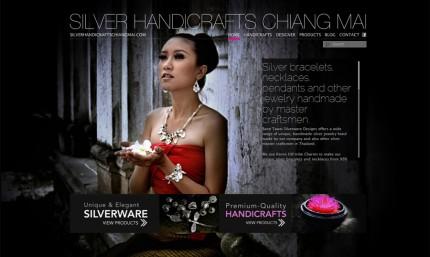 SILVER HANDICRAFTS CHIANG MAI