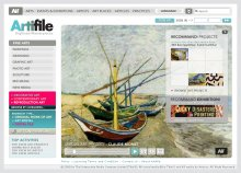 Artifile Website