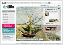 Artifile Website