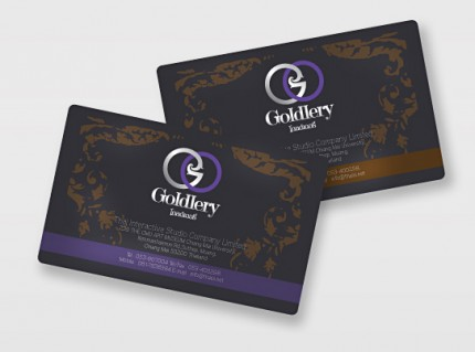 Business Card Design โกลเดอรี่
