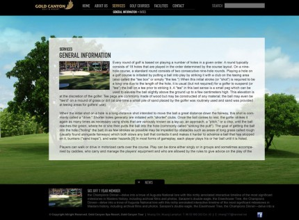 GOLD CANYON GOLF & RESORT