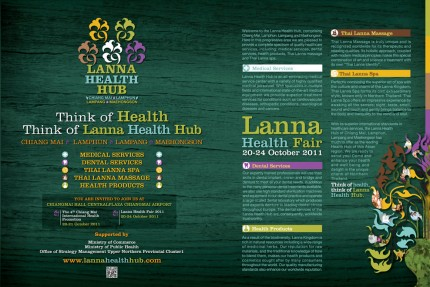 Book Advertising LANNA HEALTH HUB CORPORATE IDENTITY